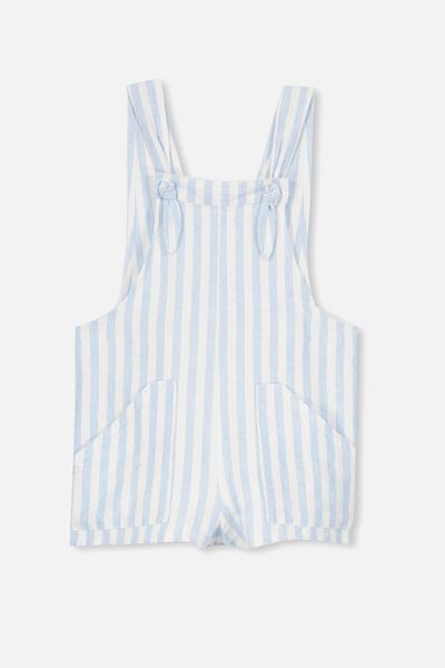 Tyra Playsuit, BUTTERFLY BLUE STRIPE