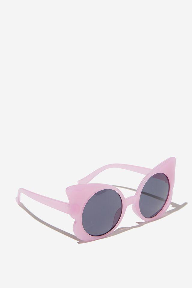 Kids Retro Sunglasses, PALE VIOLET BUTTERFLY