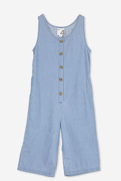Harlo Jumpsuit, LIGHT WASH