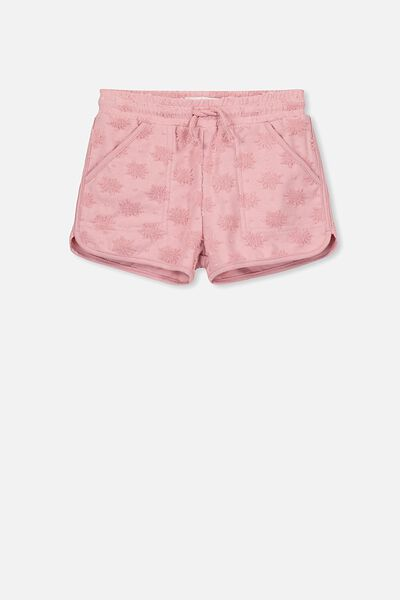 Nina Knit Short, SWEET BLUSH SUNS