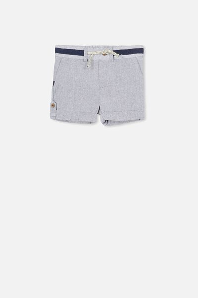Daniel Relaxed Short, NAVY