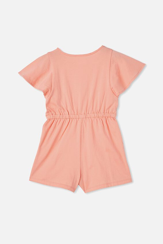 Clare Playsuit, MUSK MELON