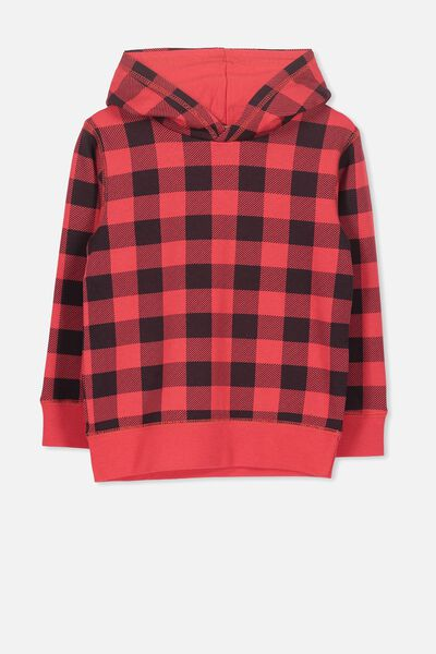 Liam Hoodie, SOPHIE RED/CHECK