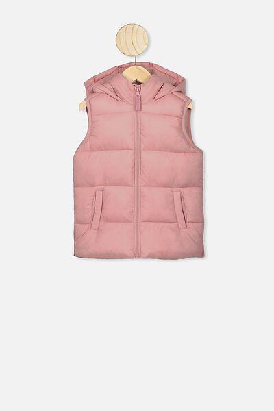 Billie Puffer Vest, ZEPHYR