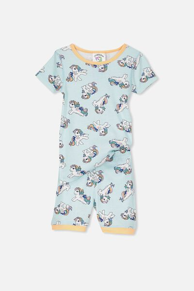 Nicole Short Sleeve Girls Pj, MY LITTLE PONY RAINBOW