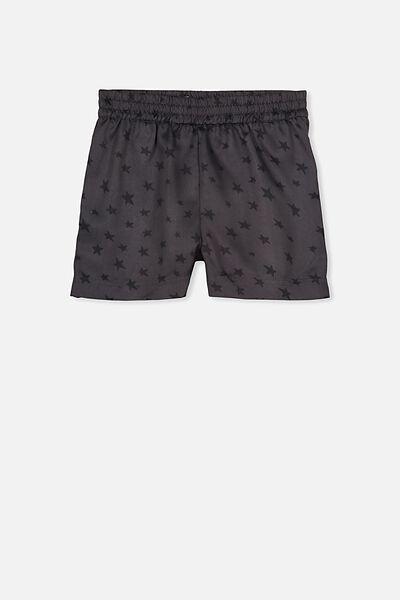 Boys Pyjama Short, GREY STAR