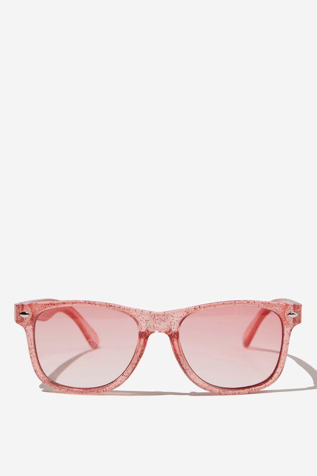 Kids Sunglasses, PINK GLITTER