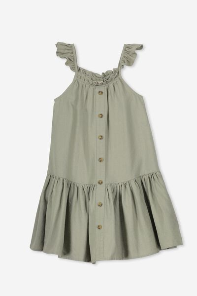 Lettie Dress, SEAGRASS