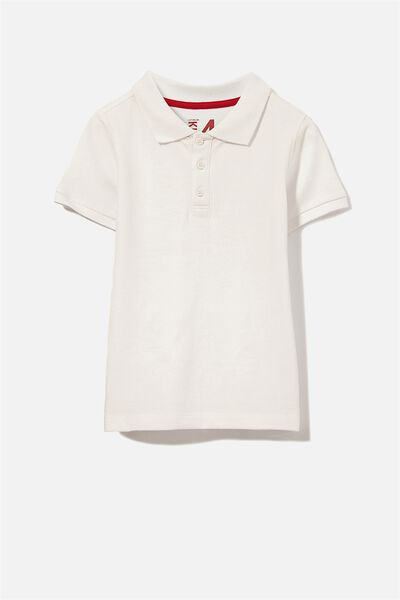 Kenny 3  Polo, WHITE