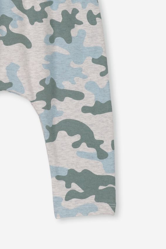 The Legging, SOFT GREY MARLE/STORMY SEA CAMO