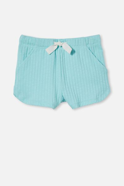 Gianna Knit Short, DREAM BLUE RIB