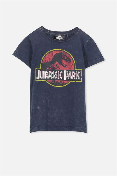 Short Sleeve Licence Tee, CAPTAIN BLUE/JURASSIC PARK