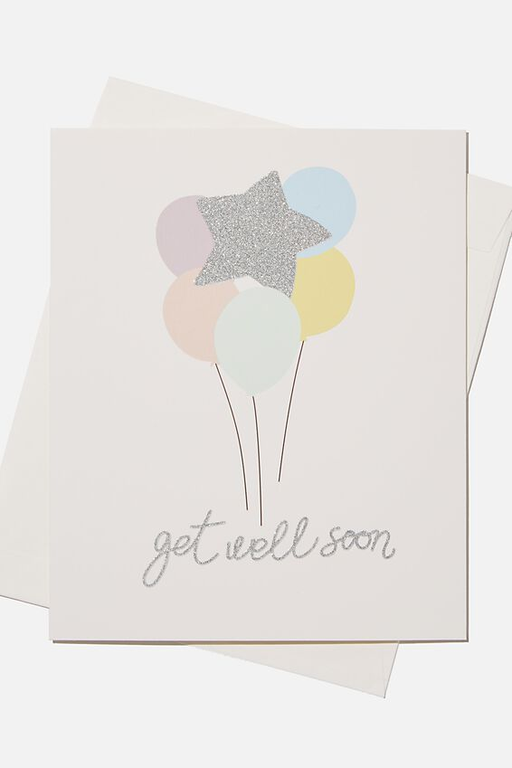 Special Occasion Gift Card, GET WELL SOON