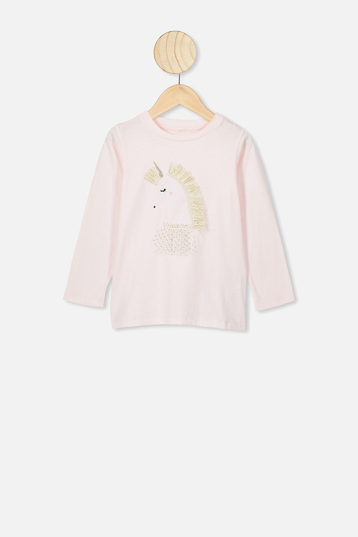 Sharemen Girls Boys Jacket Flower Print Outfits Baby Long-Sleeved Cartoon Bear Cotton Clothes