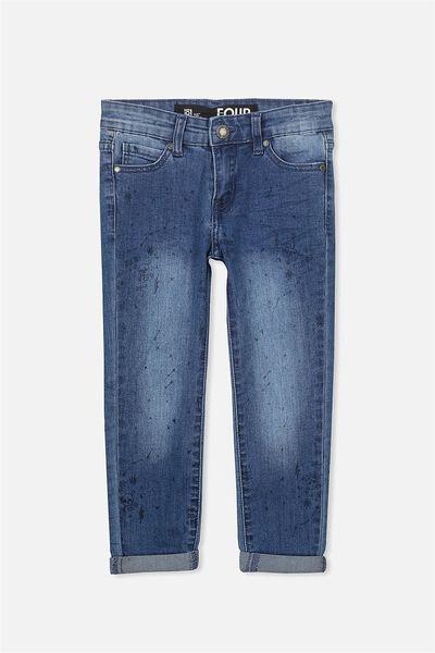 Jagger Slim Leg Jean, PENNINSULAR BLUE WASH/YARDAGE