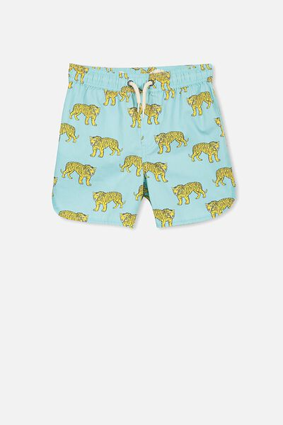 Murphy Swim Short, SHELL BLUE/TIGERS