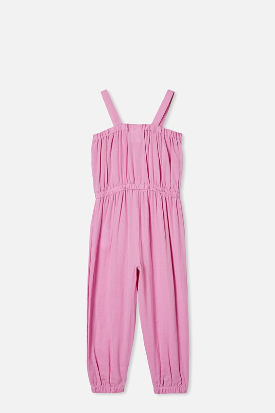 Tully Tie Front Jumpsuit, PURPLE PARADISE