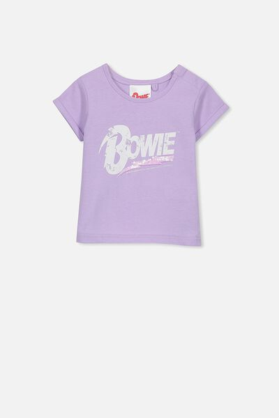 License Ss Ginger Tee, ORCHID BLOOM/BOWIE