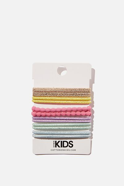 Knot Messy Hair Ties - Round, GOLDY BRIGHTS
