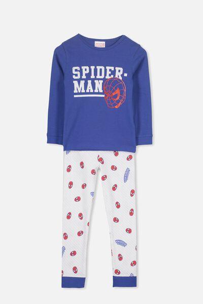 Harry Long Sleeve Boys PJ Set, LCN AMAZING SPIDERMAN