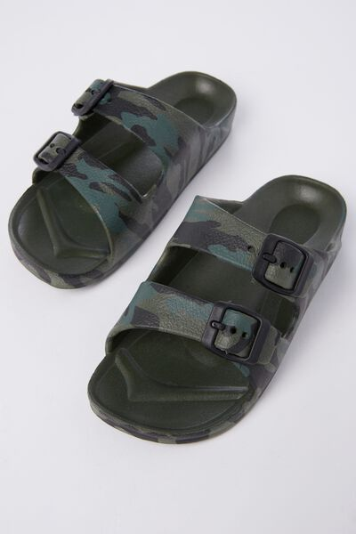Twin Strap Slide, NEW CAMO