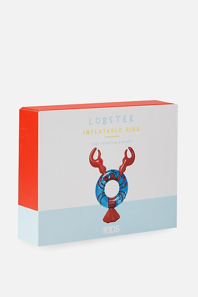 Kids Swim Ring, BLUE LOBSTER