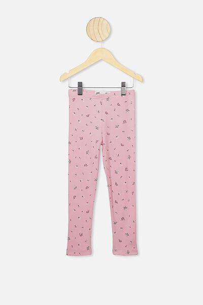 Huggie Tights, MARSHMALLOW/FLORAL FIELDS MINI