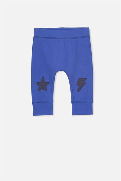 Mini Legging, SCUBA BLUE/STARS AND LIGHTENING KNEES