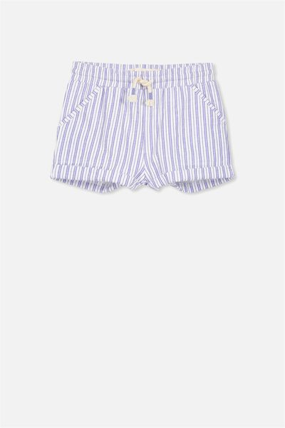 Nila Knit Short, VANILLA/BLUE STRIPE