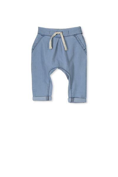 Alice Slouch Pant, LIGHT CHAMBRAY