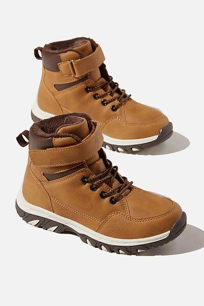 Trekker Hybrid Boot, TAN CARAMEL TOFFEE