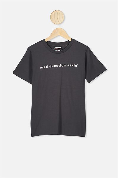 Co-Lab Short Sleeve Tee, LCN MT BIGGIE PHANTOM/MAD QUESTION ASKING
