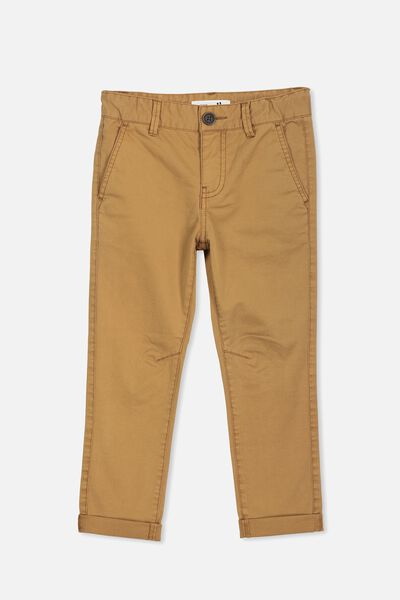 Roller Chino, GOLDEN BROWN