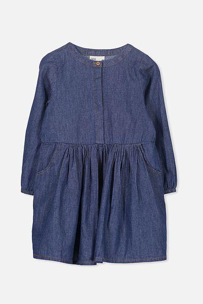 Sami Shirt Dress, DARK WASH
