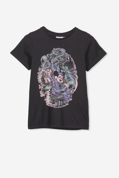 Lux Short Sleeve Tee, LCN DIS PHANTOM/FANTASIA MICKEY/MAX