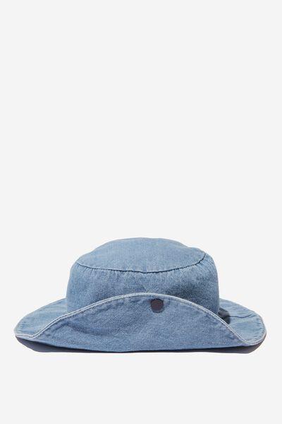 Kids Bucket Hat, CHAMBRAY