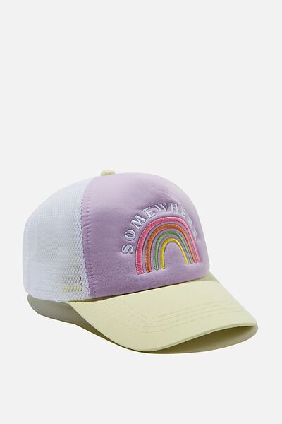 Kids Trucker Cap, SOMEWHERE RAINBOW