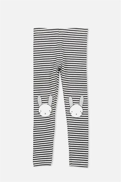 Huggie Leggings, PHANTOM VANILLA STRIPE/BUNNY KNEES