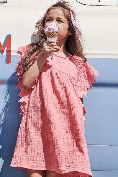Maggie Short Sleeve Dress, RETRO CORAL