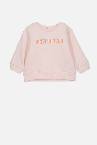Billie Sweater, CRYSTAL PINK/#INFLUENCER