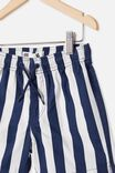Volly Short, CANDY STRIPE/INDIGO