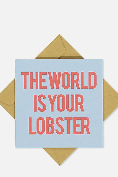 Gift Cards, LOBSTER WORLD