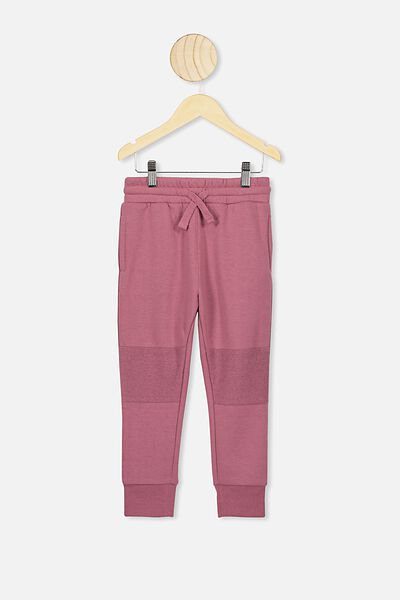 Heritage Trackpant, VINTAGE BERRY