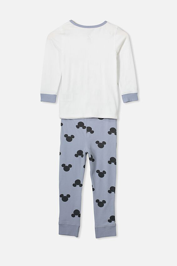 Harrison Long Sleeve Boys Pyjamas, LCN DIS MICKEY MOUSE SKELETON