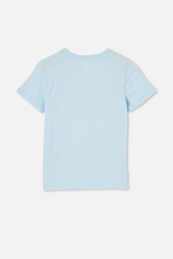 Penelope Short Sleeve Tee, FROSTY BLUE/SOMEWHERE