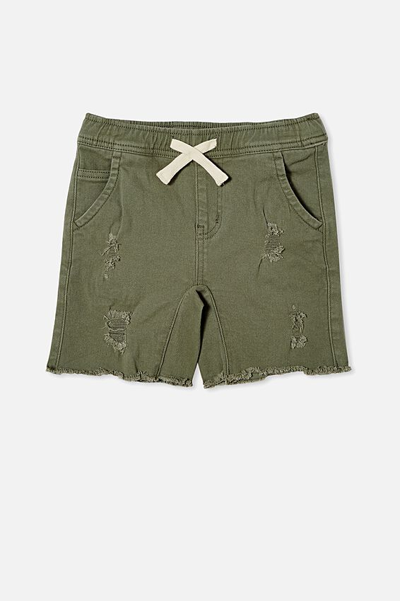 Street Slouch Short, SILVER SAGE