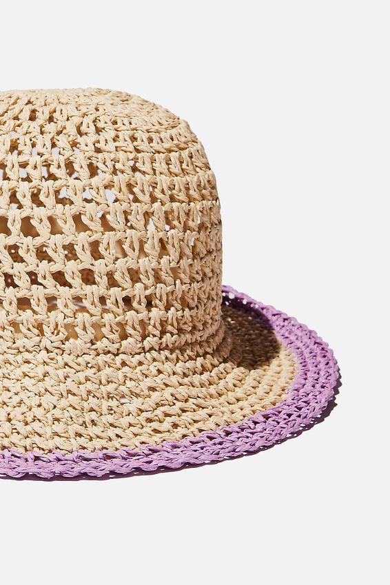 Floppy Hat, PASTEL LILAC