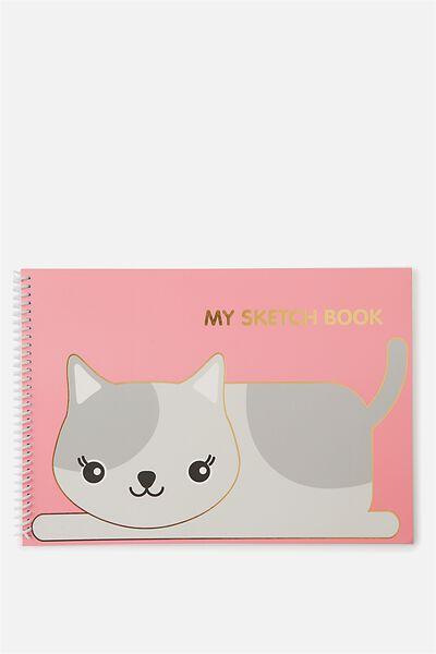 Sunny Buddy A4 Sketchbook, AVA CORE