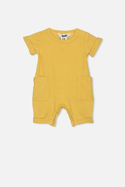 River Playsuit, CORN SILK
