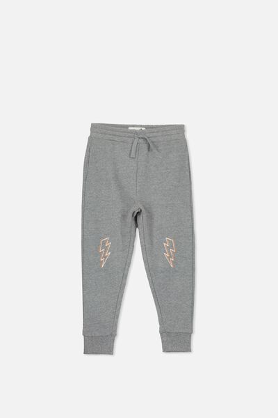 Lewis Trackpant, HAZE MARLE/BOLTS